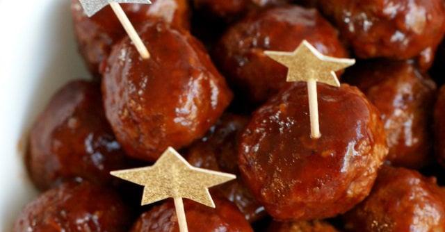 Slow-Cooker Root Beer BBQ Cocktail Meatballs