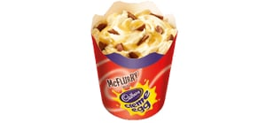Try Not to Freak Out, but McDonald's Just Released a Cadbury Creme Egg McFlurry
