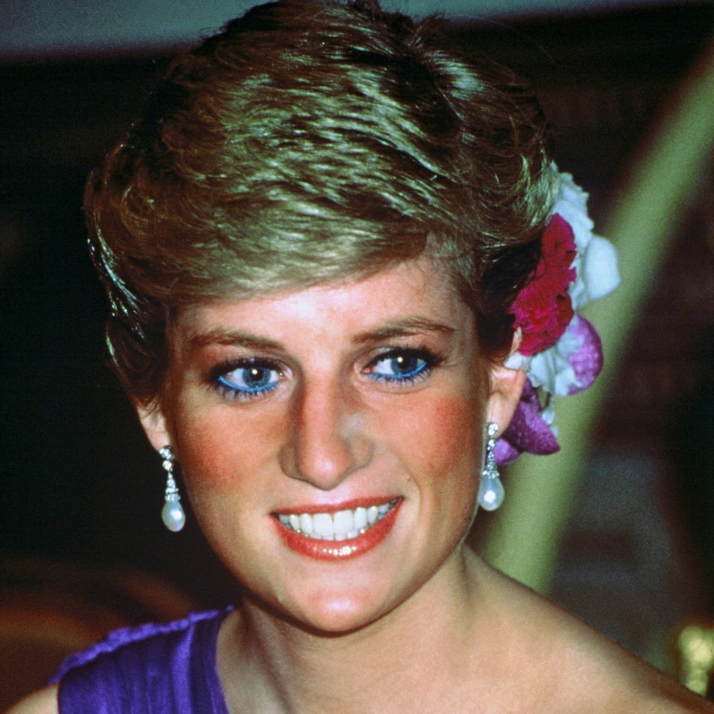 Princess Diana Beauty Blue Eyeliner