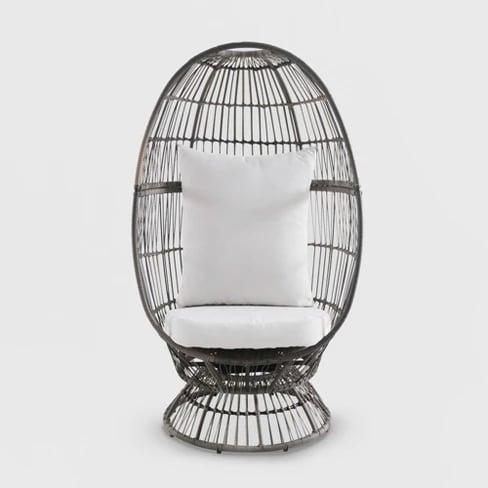 Latigo Swivel Patio Egg Chair