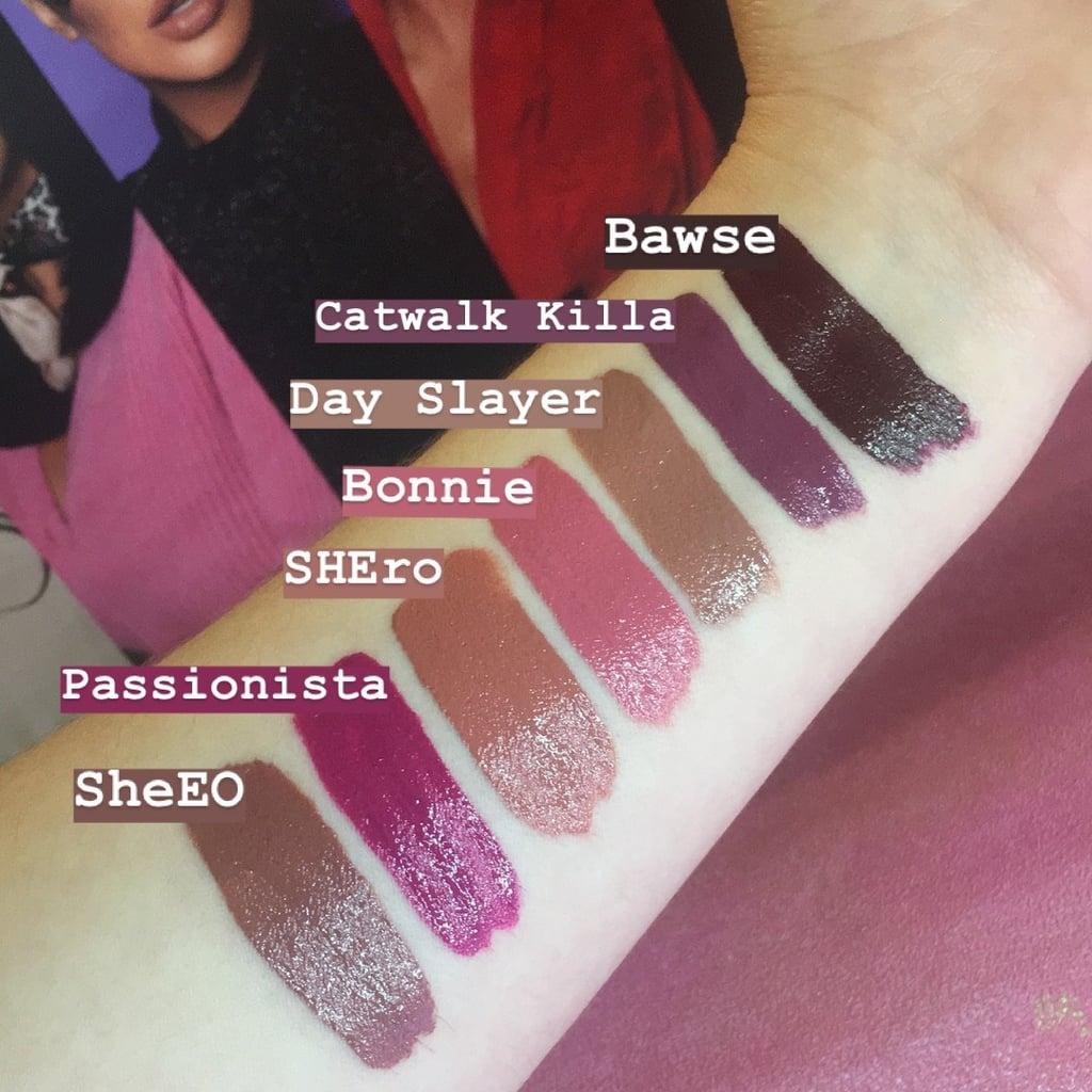 Huda Beauty Demi Matte Lipstick Swatches Popsugar Beauty