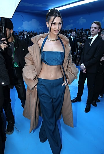 Bella Hadid's Louis Vuitton Crop Top Brought Back the 2000s