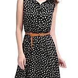 Unique Bargains Sleeveless Shirt Dress