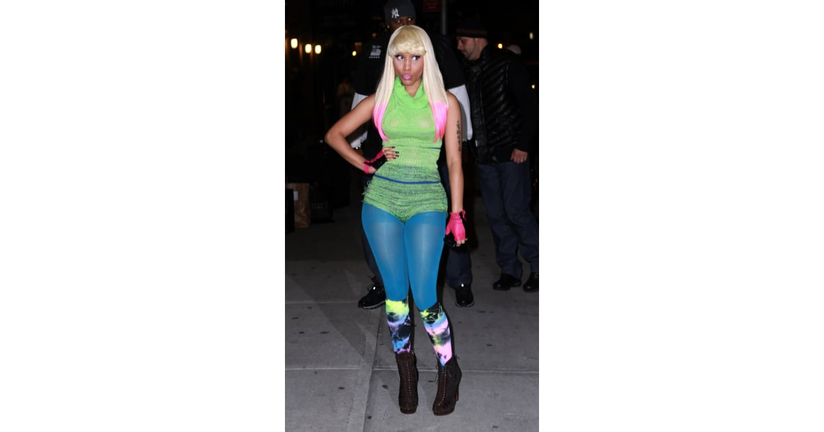 Nicki Minaj Style Nicki Minaj Craziest Outfits Pictures Popsugar Fashion Photo 4