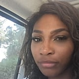 "Serena Williams was ""on the road again."""