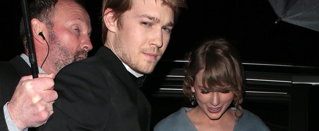 Taylor Swift and Joe Alwyn at the BAFTA Awards