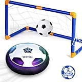 For 4-Year-Olds: Hover Soccer Ball Set with 2 Goals