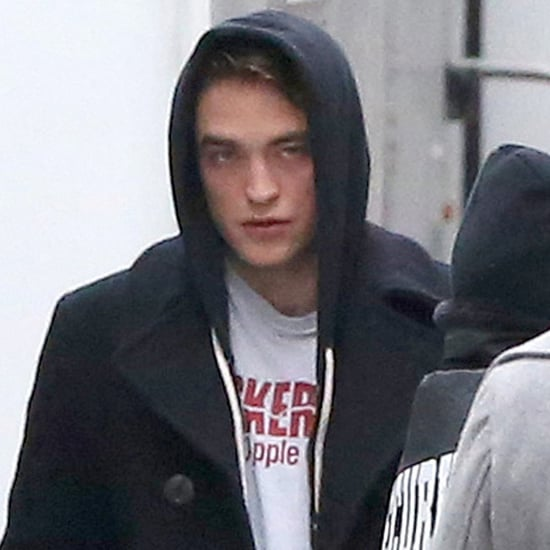 Robert Pattinson on the Set of Life   Pictures