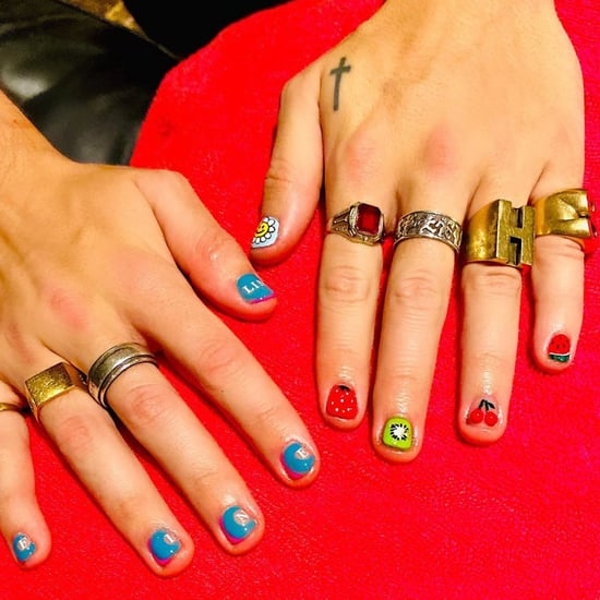 Harry Styles Fine Line Nail Art — See the Photo
