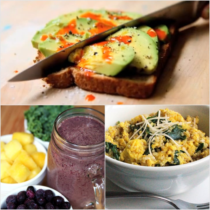 1 Week of Breakfast! 7 Healthy Recipes Ready in Under 10 Minutes