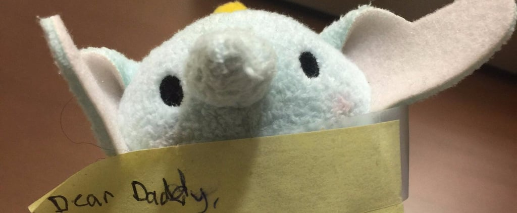 Dad Finds Sweet Note Taped to Dumbo Toy in His Business Trip Suitcase