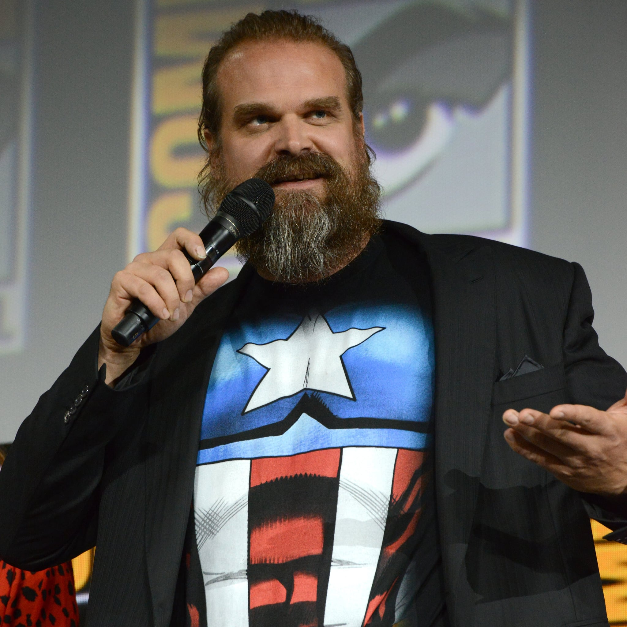David Harbour's New Black Widow Role Makes Us Think of a Certain Stranger Things Character