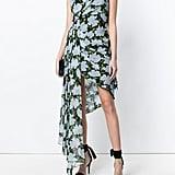 Off-White Fantasia Print Asymmetric Shift Dress