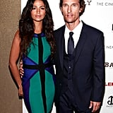 Matthew McConaughey posed with Camila Alves in NYC for a screening of Killer Joe.