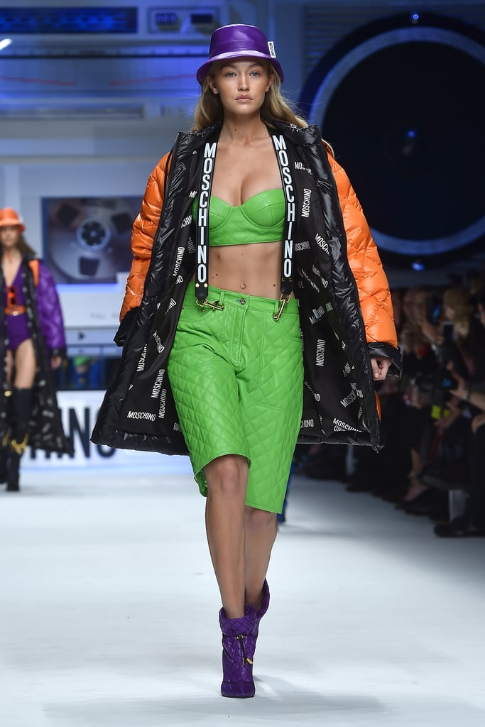 1c407be28d3 She Changed Out Mind About Bucket Hats At Moschino