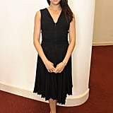 She wore another LBD when she attended the One Young World Summit in October 2014.