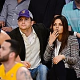 But Mila Made a Quilted Version Work While Sitting Courtside
