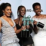 Lupita Nyong'o Wears Box Braids at the 2019 SAG Awards