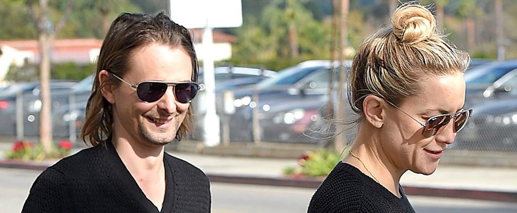 Kate Hudson and Matthew Bellamy Reunite After Split   Photos