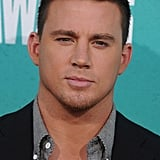 Channing Tatum arrived looking handsome.
