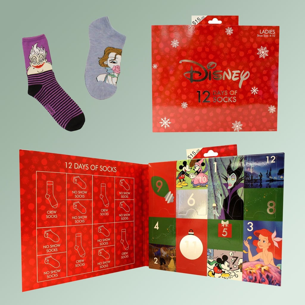 disney socks advent calendar - Disney 12 Days Of Christmas