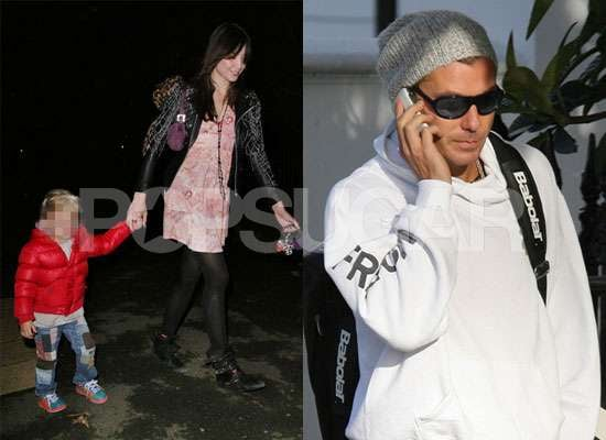 Photos of Gavin Rossdale and Daughter Daisy Lowe With Kingston