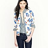 Floral-obsessed? This pretty cardigan would brighten up even our most basic white tees.  J.Crew Paintbox Floral Cardigan ($88)