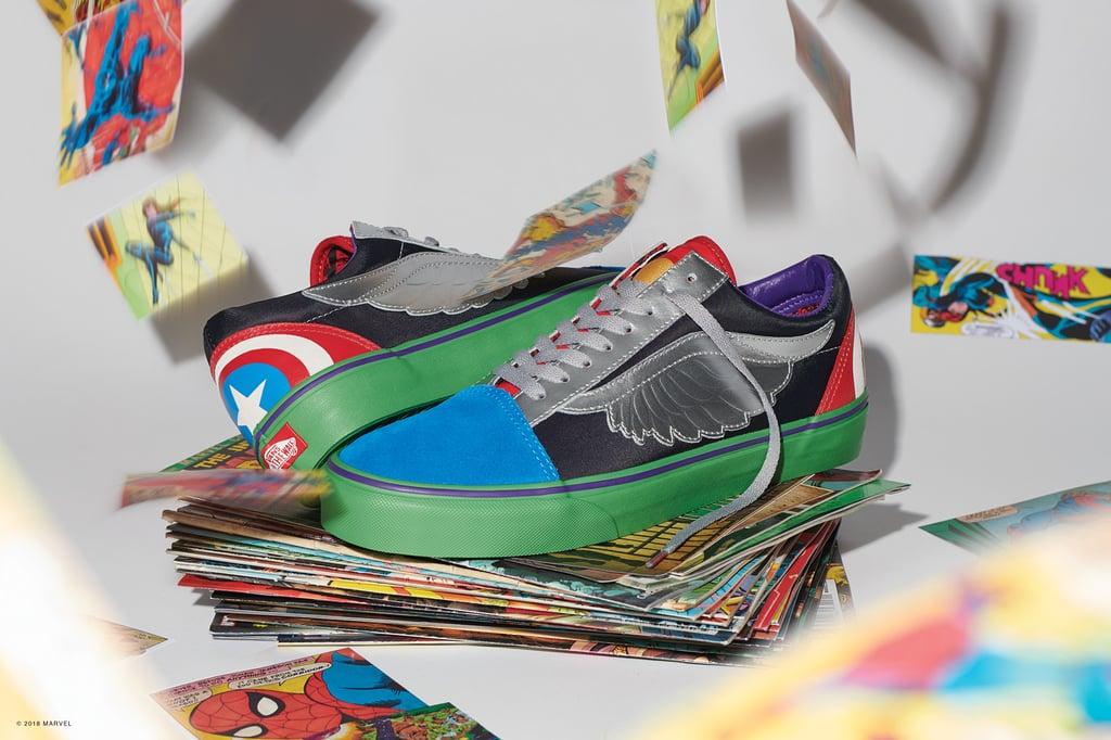 scarpe vans x marvel old skool