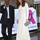 Kate Middleton White Off the Shoulder Dress June 2019