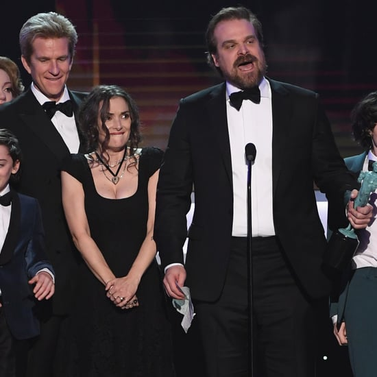 Winona Ryder's Reaction to Stranger Things Winning SAG Award
