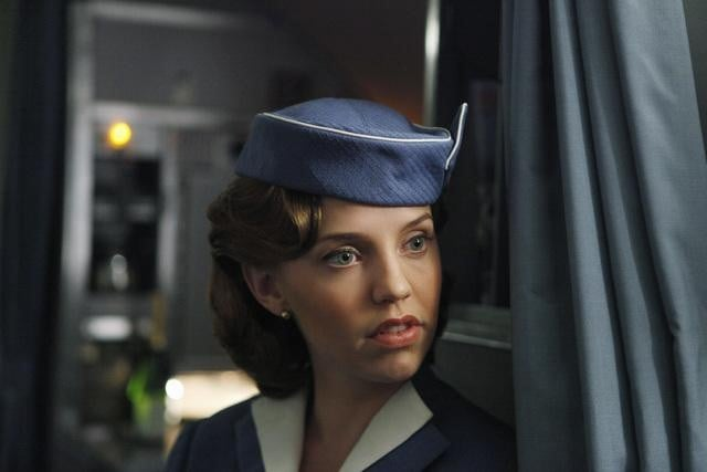 Kelly Garner in ABC's Pan Am.	