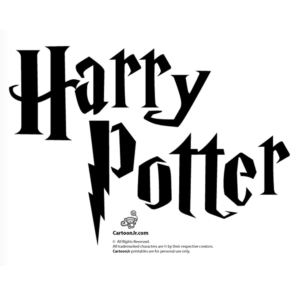 Rare image intended for harry potter stencils printable