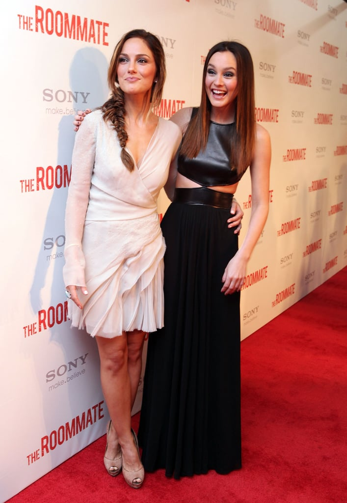 Pictures of Minka Kelly and Leighton Meester at the Premiere of The Roommate