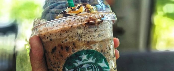 Starbucks' Secret Twix Frappuccino Tastes Just Like the Bar