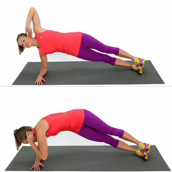 Side-Elbow Plank With a Twist