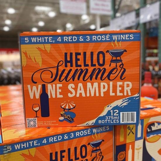 Costco's New Hello Summer Wine Sampler Has 12 Half-Bottles