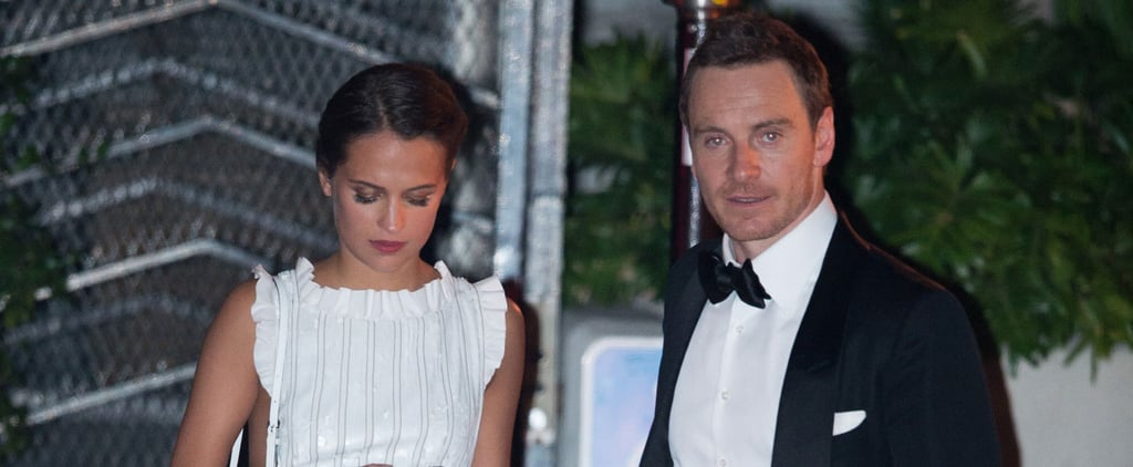Michael Fassbender and Alicia Vikander Had the Sweetest PDA-Filled Date at the Golden Globes