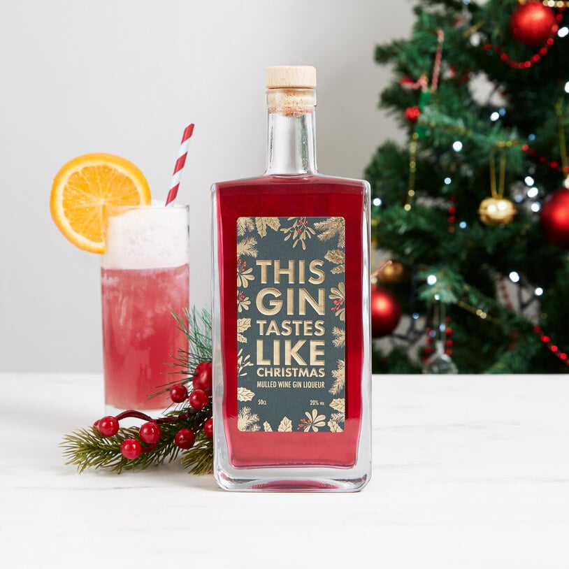 Christmas Drinks Alcohol.Firebox This Gin Tastes Like Christmas The Best Festive