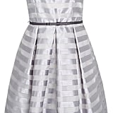 F&F Signature organza stripe prom dress (£45)