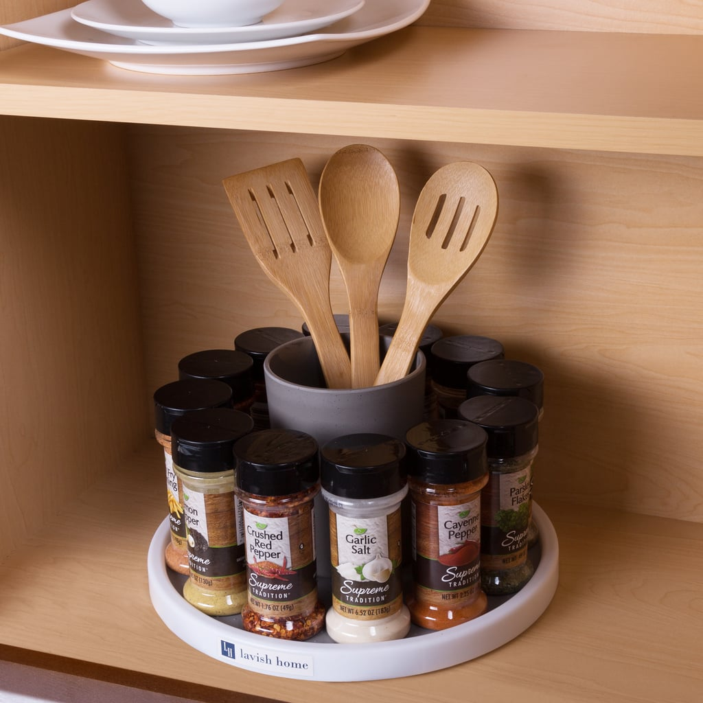 Lazy Susan Spice Rack Rotating Cabinet