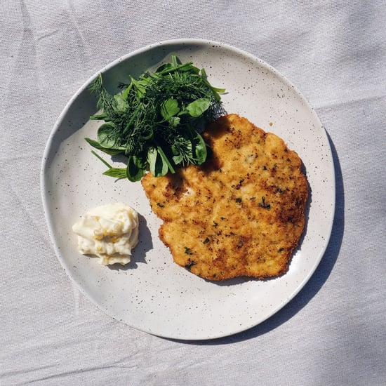 MasterChef Hayden Quinn's Chicken Schnitzel Recipe