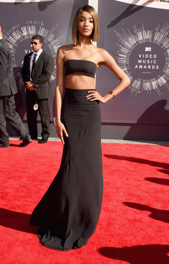Jourdan Dunn at the 2014 MTV VMAs