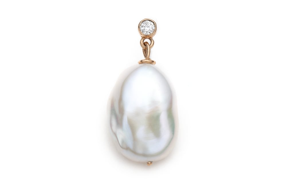 Sofia Zakia Diamond Girl With A Pearl Earring