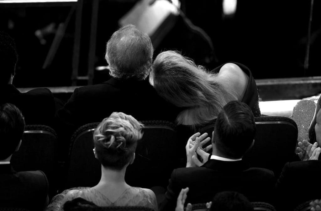 Meryl was spotted with her head on his shoulder at the Oscars in 2017.