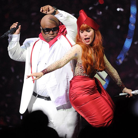 Watch Cee Lo Green With Paloma Faith's Brit Awards Performance! 2011 Video