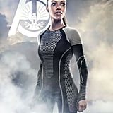 Meta Golding plays Enobaria, a former tribute who earned a fierce reputation by using her teeth to rip out the throat of a competitor. Yikes.