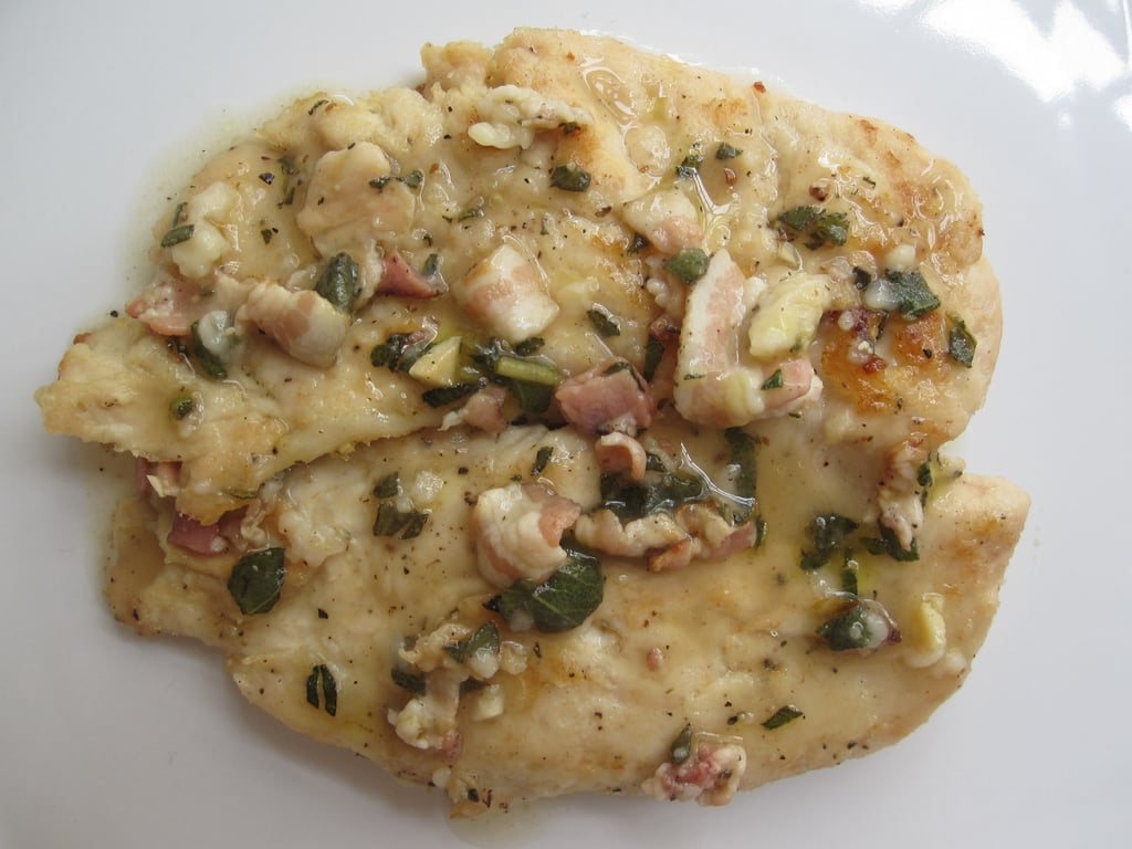 Turkey Scaloppinie With Pancetta-Sage Sauce