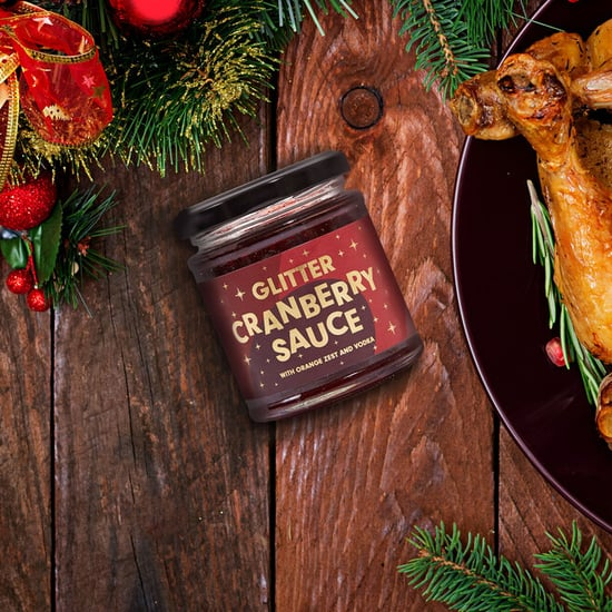 Firebox Launched Glitter Cranberry Sauce