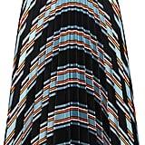 J.W.Anderson Cotton Silk Printed Fan Pleat Skirt ($305)