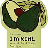 TONYMOLY I'm Real Avocado Mask Sheet ($4)